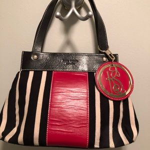 RARE EUC Kate Spade ♠️ Blk/Ivory Red/Blk Leather
